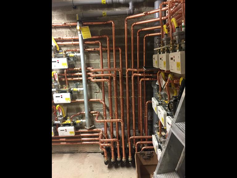 Apartment Block Gas Meters